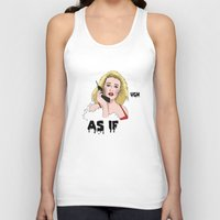 clueless Tank Tops featuring Clueless by Steven Crissey