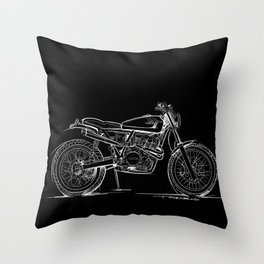 Cabin Fever XR650 Throw Pillow