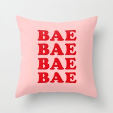 Bae Bae Bae Throw Pillow
