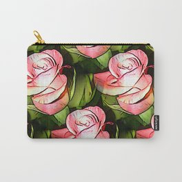 Multiplied roses Carry-All Pouch