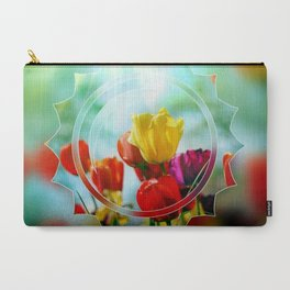 Tulips in the sunshine Carry-All Pouch