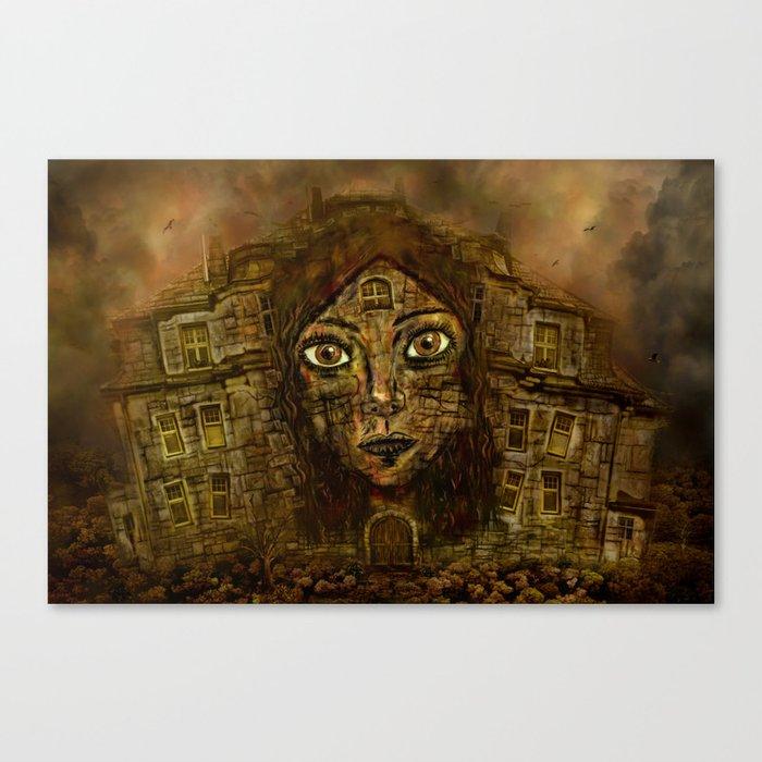 Girlz Houze  Canvas Print