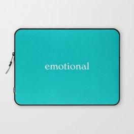 emotional woman Laptop Sleeve