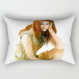 Karen Gillan Rectangular Pillow