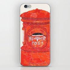 Red Mailbox iPhone & iPod Skin