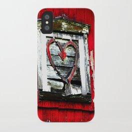 Barn Heart iPhone Case