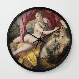 Martin de Vos - The Rape of Europa Wall Clock