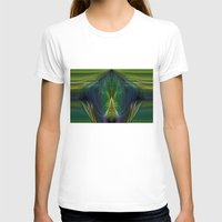 lantern T-shirts featuring Lantern Flame by Avril Harris