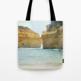 On a Collision Course Tote Bag
