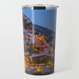 A Serene View of Amalfi Coast in Italy Travel Mug