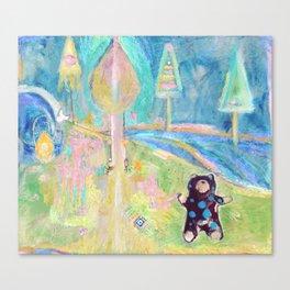 Bear Land Canvas Print