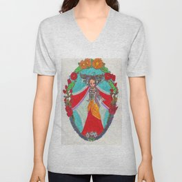 Queen of the Tundra Unisex V-Neck