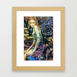 Guardian angel of nature Framed Art Print