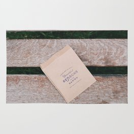 Beautiful Reasons to be Happy Quote Rug