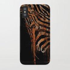 Zebra Mood Slim Case iPhone X