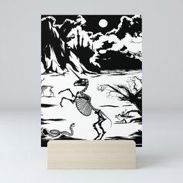 Last Unicorn, Fantasías Macabras Mini Art Print