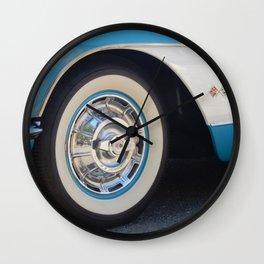 Vintage Car Wheel Wall Clock
