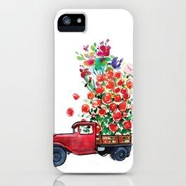 Truck of Love iPhone Case
