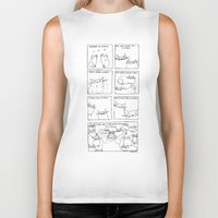 rubyetc Biker Tanks featuring my favourite things by rubyetc
