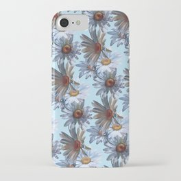 Daisy galore baby blue iPhone Case