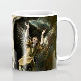 """El Greco (Domenikos Theotokopoulos) """"The Crucifixion"""" Coffee Mug"""