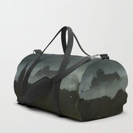 small town with castle Duffle Bag