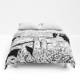 In the red desert (3) Comforters