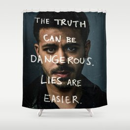 13 Reasons Why Shower Curtain