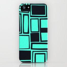 Windows & Frames - Teal iPhone Case