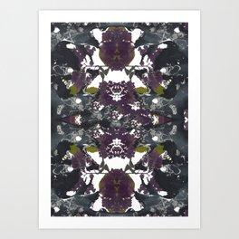 Floral Pelvis Art Print