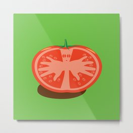 Tomato Guy Metal Print