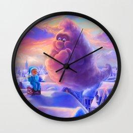 Smoke and Boy Wall Clock