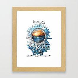 Eye of CASM Framed Art Print