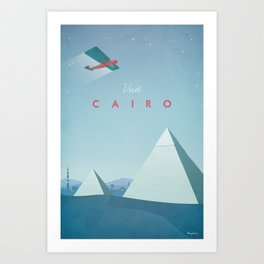 Cairo - Vintage Travel Poster Art Print