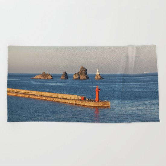 Busan Beach Towel