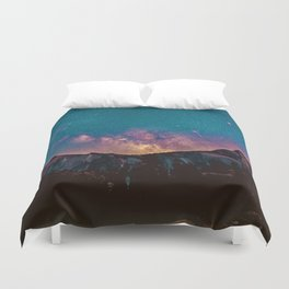 The Majestic Milky Way Duvet Cover
