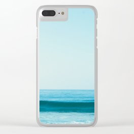 Little Waves Clear iPhone Case