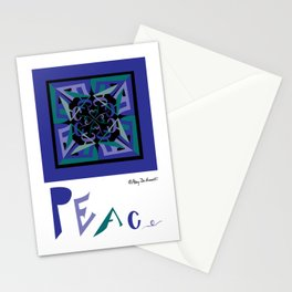 Peace Out of Darkness Stationery Cards