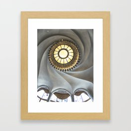 Void of light Framed Art Print