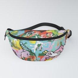 Monsters Vacation Fanny Pack