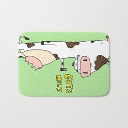 Gots Milk Bath Mat