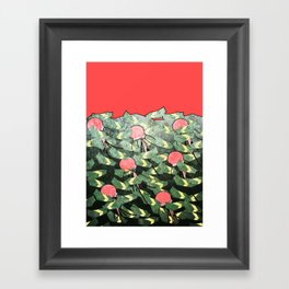 PRIM8: Sea Pollution Framed Art Print