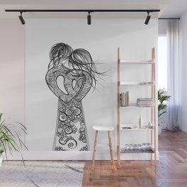 Love on a pedestal Wall Mural