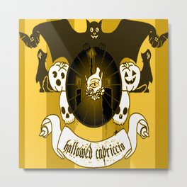 Hallowed Capriccio Logo (Stripes) Metal Print