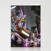 theater Stationery Cards featuring Theater District by LMFK