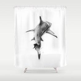 Shark II Shower Curtain