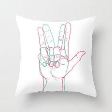 PEACE&LOVE Throw Pillow
