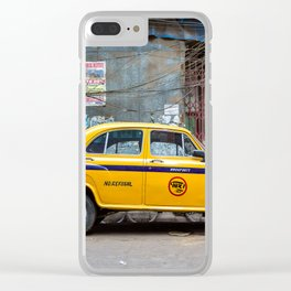 Taxi India Clear iPhone Case