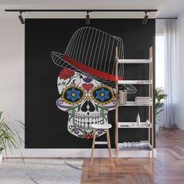 Hipster Modern and Trendy Skull Horror Wall Mural