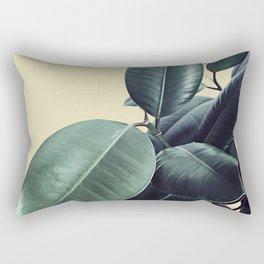 Ficus Elastica #15 #AniseFlower #decor #art #society6 Rectangular Pillow